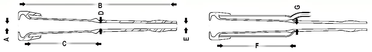Conewango Liner dimensions diagram
